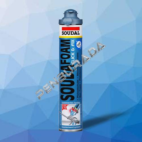 Soudal 750ml Soudalfoam Gun Click&Fix